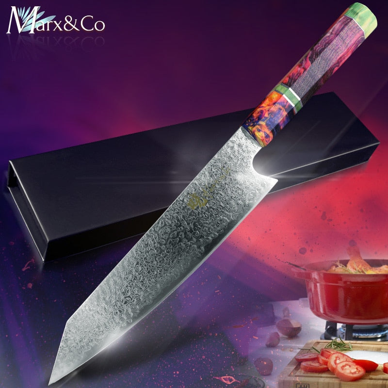 Damascus Kitchen Chef Knife