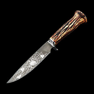 Outdoor Tactical Bowie Knife With Sheath