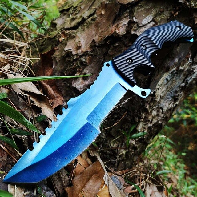 Tactical Fixed Bowie Knife