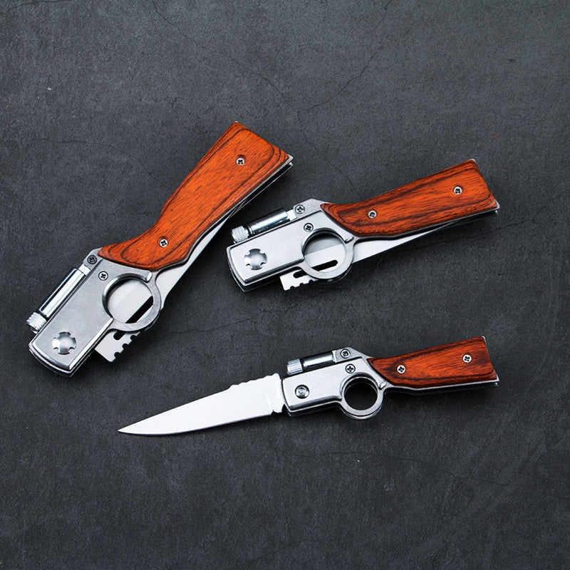 AK47 Gun Shaped Pocket Knife