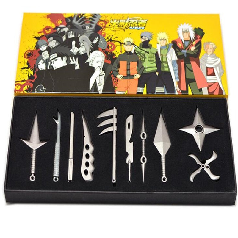 Naruto Kunai Knife Weapon Set