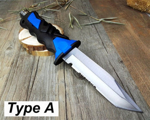 Deepsea Scuba Diving Fixed Blade Knife