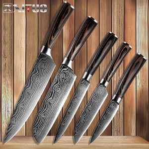 Damascus Steel Kitchen Knife