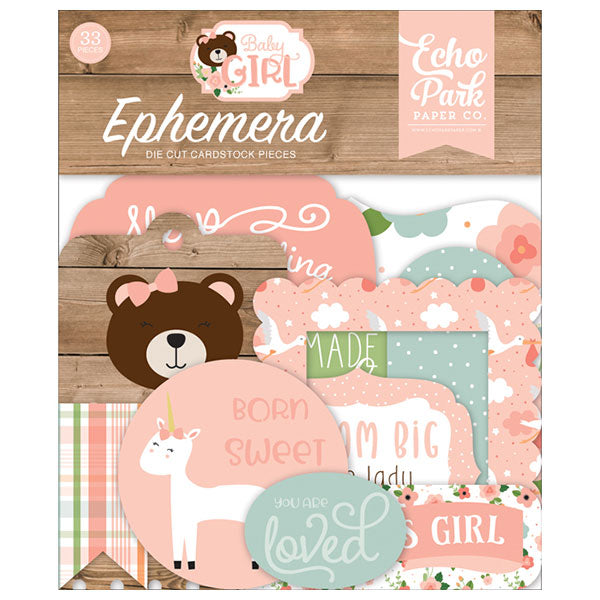 EP-BAG202024 Baby Girl Ephemera