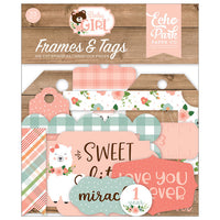 【セール品】EP-BAG202025 Baby Girl Frames & Tags