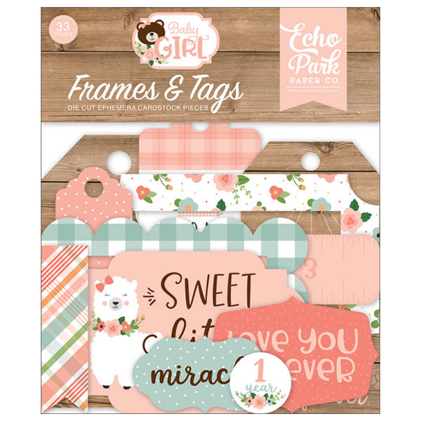 EP-BAG202025 Baby Girl Frames & Tags