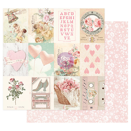 PR-996680 Magic Love Collection 12x12 Sheet - Sweetness