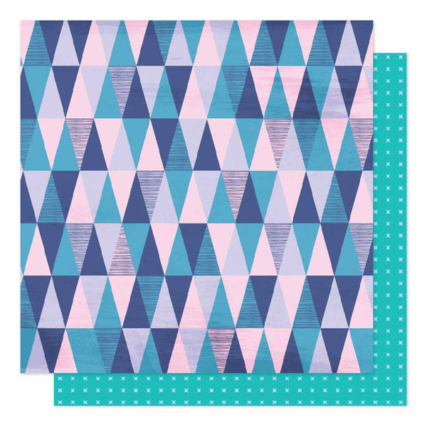 Patterned Paper - AC - SH - Sparkle City - 12 x 12 - Mountain View 351361