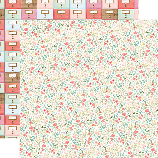EP-CBFAR113004 Antique Floral