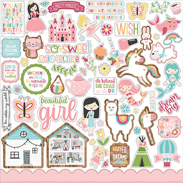 【セール品】EP-ALG206014 All Girl Element Sticker