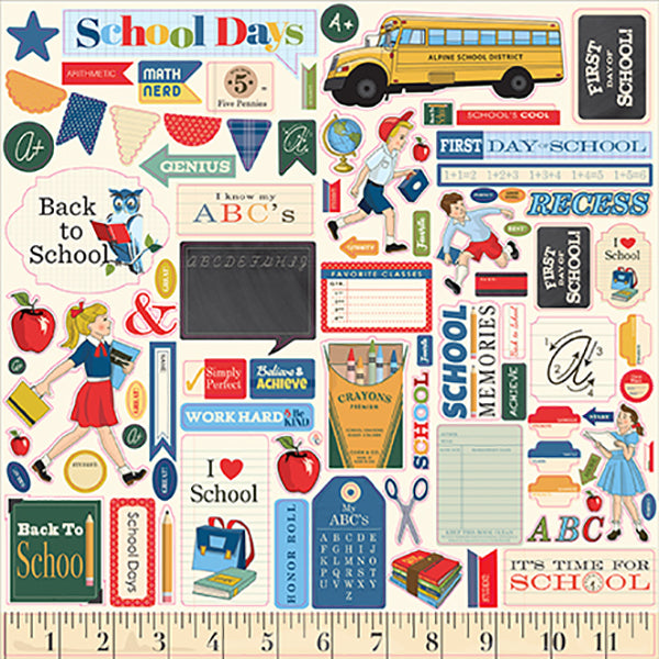 【セール品】EP-CBDS118014 School Days Element Sticker