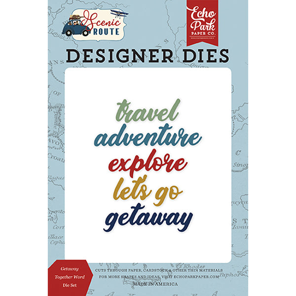 【セール品】EP-SR212041 Getaway Together Word Die Set