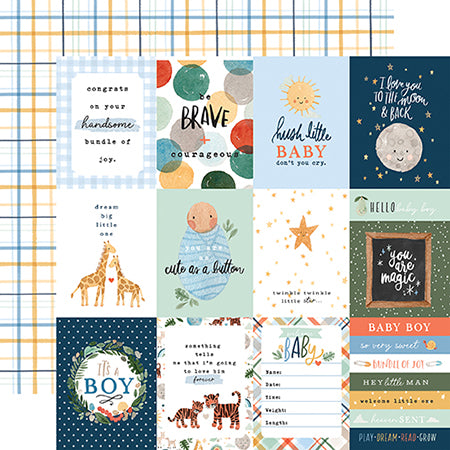 EP-WBB234003 3X4 Journaling Cards
