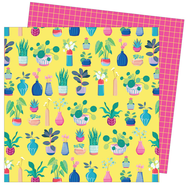 Patterned Paper - AC - DML - Write At Home - 12x12 - Say Aloe To My Little Friend 355270
