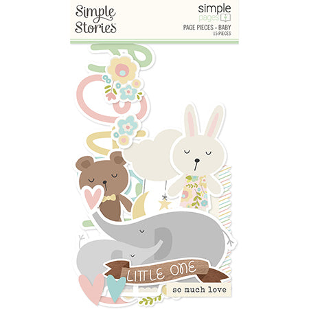 SS-15916 Simple Pages Page Pieces - Baby
