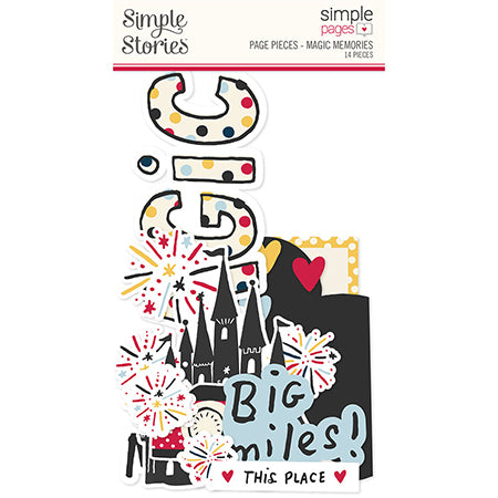 SS-15928 Simple Pages Page Pieces - Magic Memories