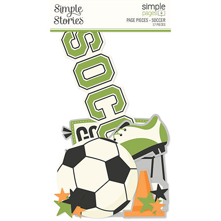 SS-15940 Simple Pages Page Pieces - Soccer