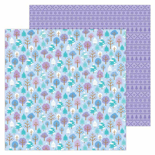 【セール品】DB-6517 frosted forest double-sided cardstock