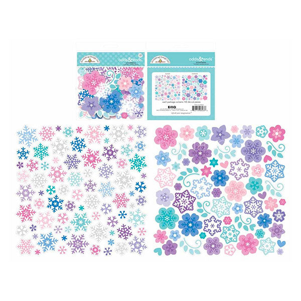 【セール品】DB-6533 winter wonderland snowflakes odds & ends