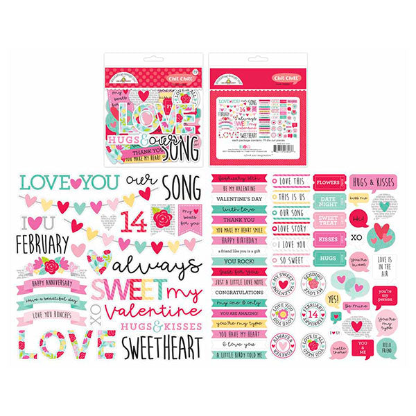 DB-6603 love notes chit chat
