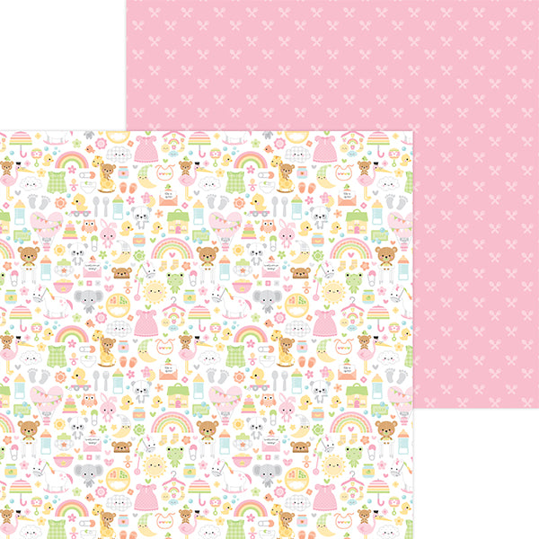 DB-6816 bundle of joy double-sided cardstock