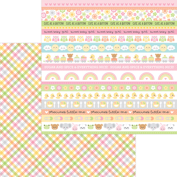 DB-6817 blankie double-sided cardstock