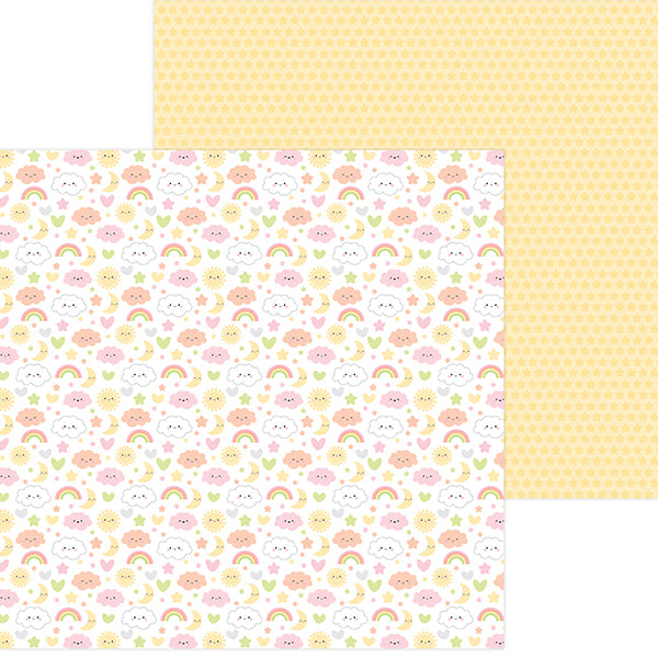 DB-6826 sweet dreams double-sided cardstock