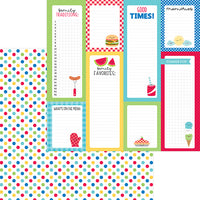 【セール品】DB-6905 picnic spot double-sided cardstock