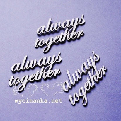 Wycinanka always together