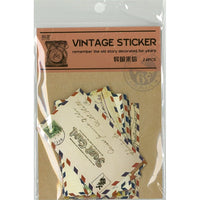 VINTAGE STICKER Airmail