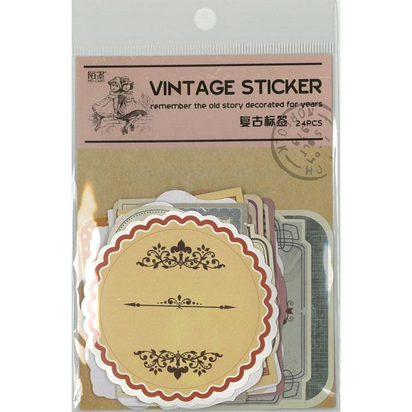 VINTAGE STICKER Label