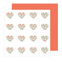 736936 Patterned Paper - PB - JH - The Avenue - Dahlia Dr.