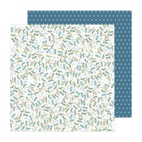 736941 Patterned Paper - PB - JH - The Avenue - Wildflower Wy.