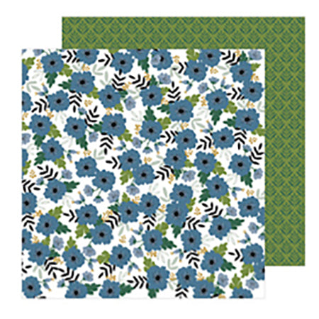 736943 Patterned Paper - PB - JH - The Avenue - Aster Ave.
