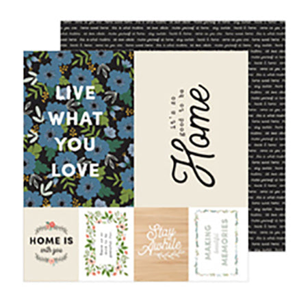 736950 Patterned Paper - PB - JH - The Avenue - Sixth Ave.