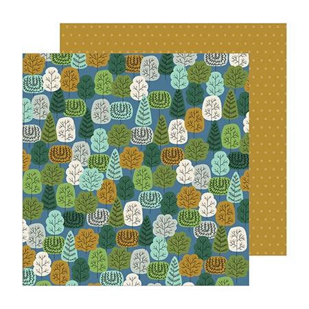 736955 Patterned Paper - PB - JH - The Avenue - Wooded Wy.