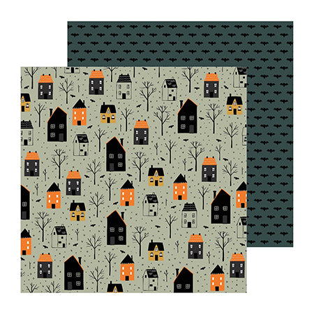 736979 Patterned Paper - PB - Spoooky - 12 x 12 - Trick or Treat