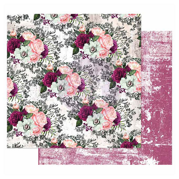 PR-849238 Pretty Mosaic Collection 12x12 Sheet - Lovely Clusters