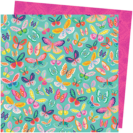 311071 Patterned Paper - AC - PE - Go the Scenic Route - 12 x 12 - Paper 20