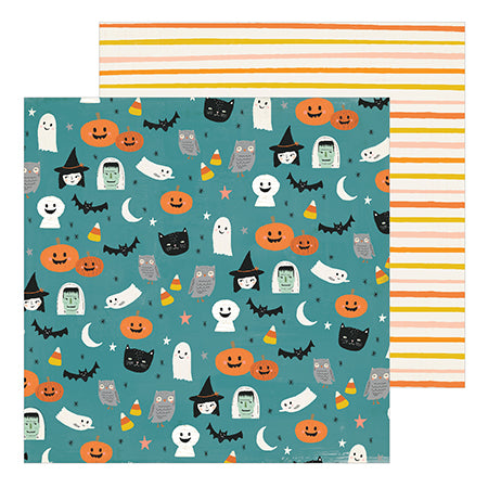 350878 Patterned Paper - CP - Hey, Pumpkin - 12 x 12 - Haunted
