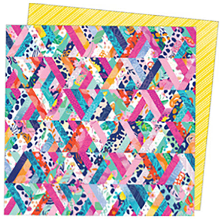 369758 Patterned Paper - AC - PE - Go the Scenic Route - 12 x 12 - Paper 8