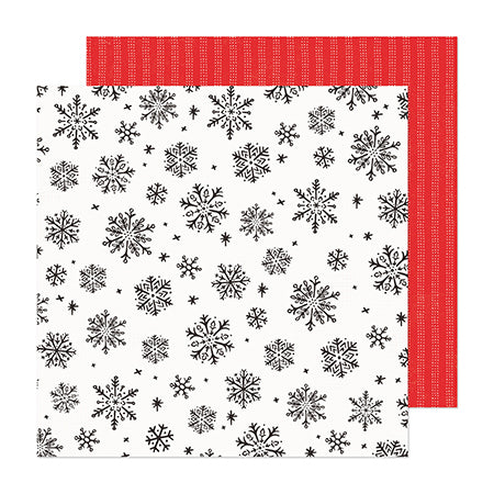 373194 Patterned Paper - CP - Hey, Santa - 12 x 12 - Blooming