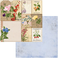 7311101 Patterned Paper - BB - Botanical Journal - 12 x 12 - Packets