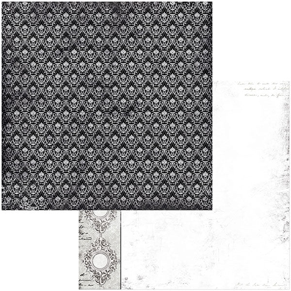 7311115 Patterned Paper - BB - Tuxedos and Tiaras - 12 x 12 - Elegance