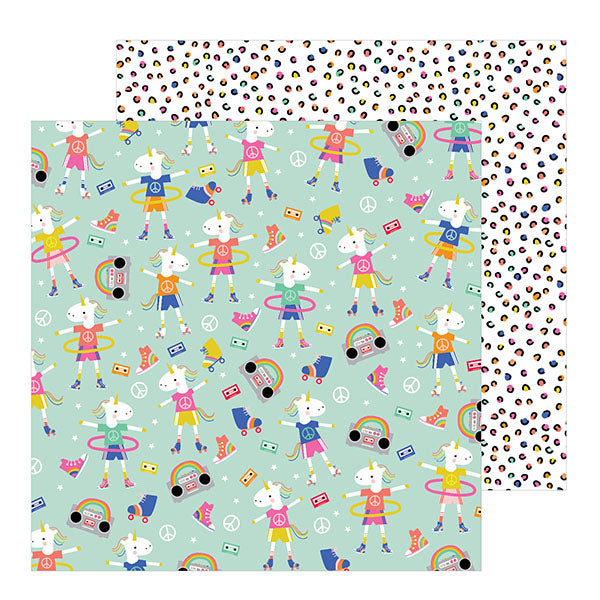 736905 Patterned Paper - PB - Live Life Happy - 12 x 12 - Dance Dance Dance