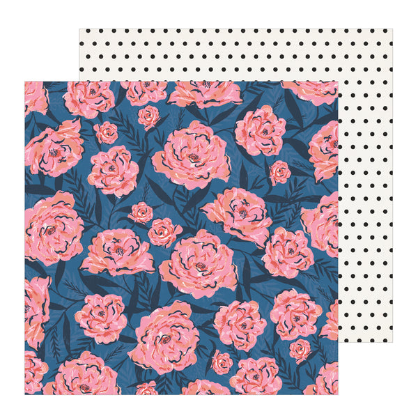 Patterned Paper - CP - All Heart - 12 x 12 - Wallflower 350848
