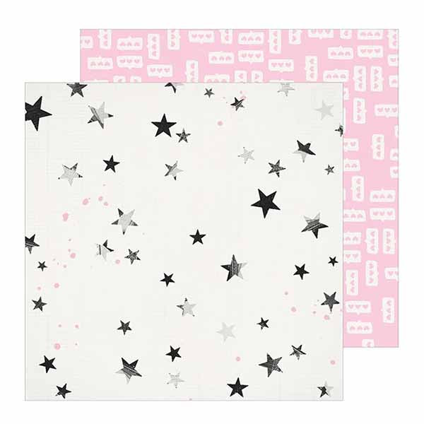 Patterned Paper - CP - All Heart - 12 x 12 - Star Dust 350851