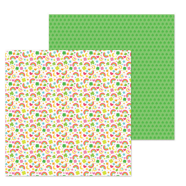 DB-6298 so charming double-sided cardstock ペーパー