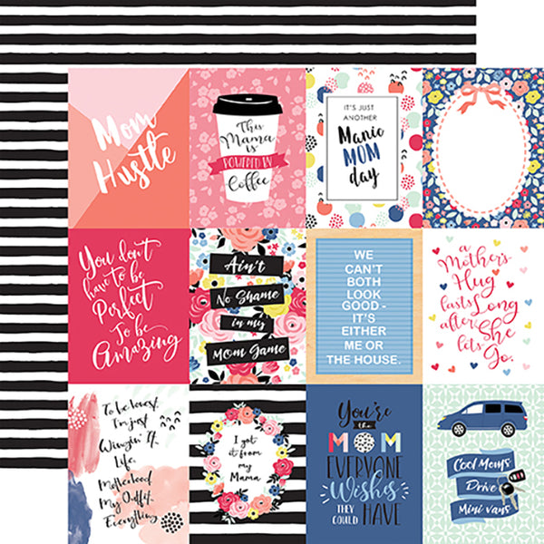 EP-MOM165003 3X4 Journaling Cards ペーパー