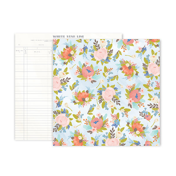 PP-310731 Patterned Paper - PP - Little Adventurer - 12 x 12 - Paper 2 ペーパー